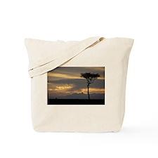 LONE WILDEBEEST IN THE MARA Tote Bag