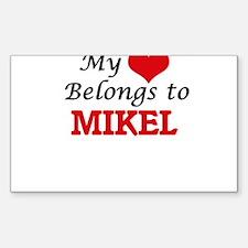 My heart belongs to Mikel Decal