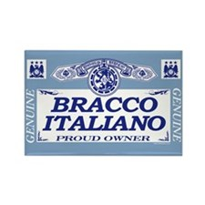 BRACCO ITALIANO Rectangle Magnet