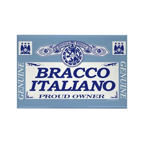 BRACCO ITALIANO Rectangle Magnet (100 pack)