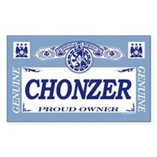 CHONZER Rectangle Decal