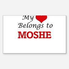My heart belongs to Moshe Decal