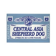 CENTRAL ASIA SHEPHERD DOG Rectangle Magnet