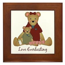 Love Everlasting Mother & Child Framed Tile
