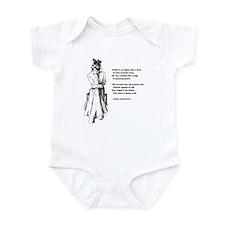 No Frigate Like a Book Infant Bodysuit