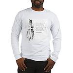No Frigate Like a Book Long Sleeve T-Shirt