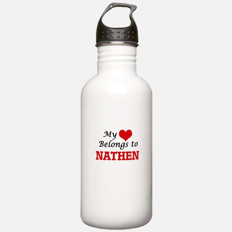 My heart belongs to Na Water Bottle