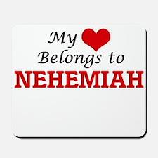 My heart belongs to Nehemiah Mousepad