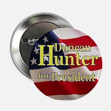 """Duncan Hunter 2.25"""" Button (10 pack)"""