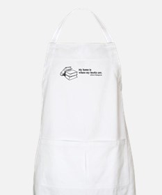 Home is Where Books Are BBQ Apron