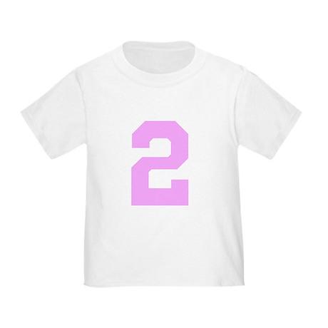 2 PINK # TWO Toddler T-Shirt