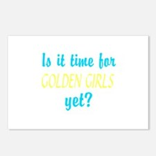 Time For The Golden Girls Postcards (Package of 8)