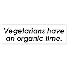 Vegetarian Bumper Bumper Sticker