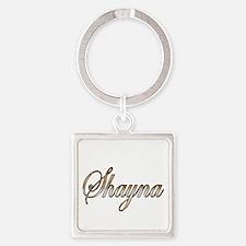 Cute Shayna Square Keychain