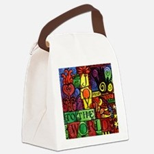 Cute Solstice Canvas Lunch Bag