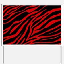 Funny Zebra pattern Yard Sign