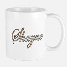 Gold Shayne Mugs
