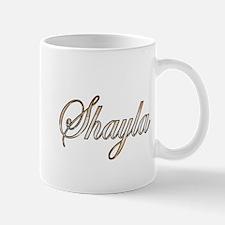 Gold Shayla Mugs