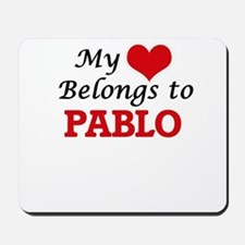 My heart belongs to Pablo Mousepad