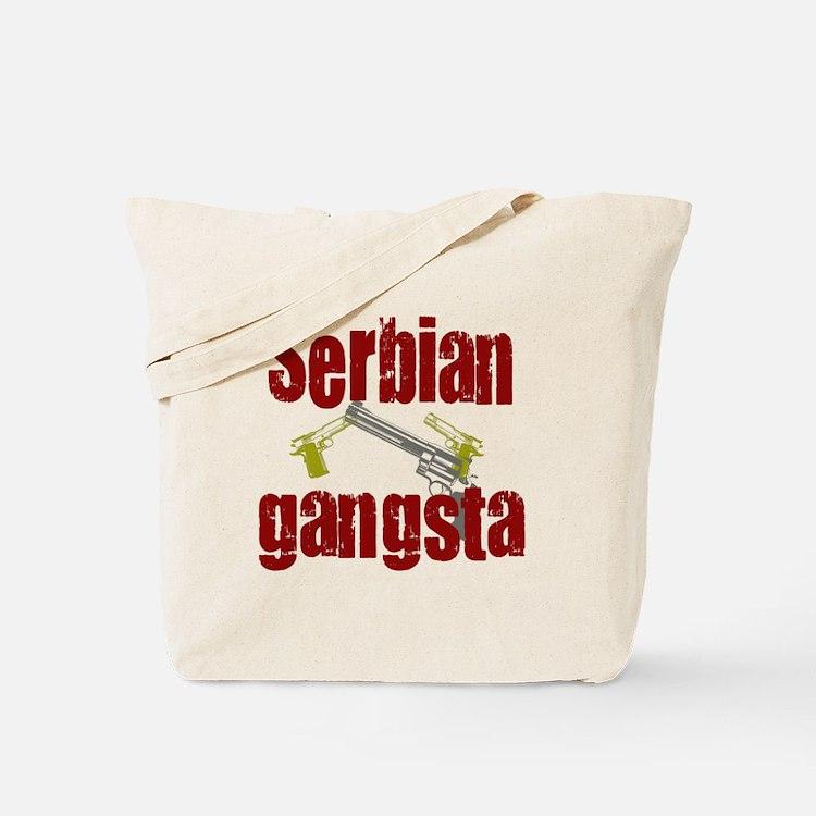 Serbian Gangster Tote Bag