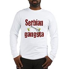 Serbian Gangster Long Sleeve T-Shirt