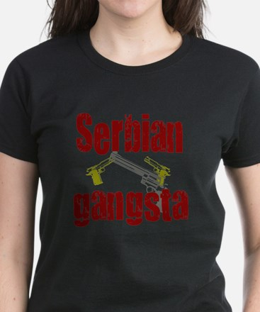 Serbian Gangster Women's Dark T-Shirt