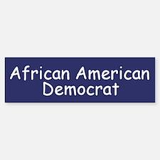 African American Democrat Bumper Bumper Bumper Sticker