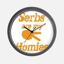 Serbs are my homies Wall Clock