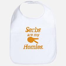 Serbs are my homies Bib