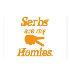 Serbs are my homies Postcards (Package of 8)