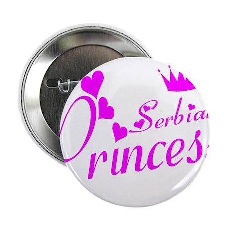 "Serbian Princess 2.25"" Button"