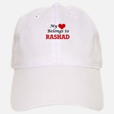 My heart belongs to Rashad Baseball Baseball Cap