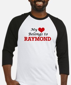My heart belongs to Raymond Baseball Jersey