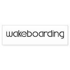 Wakeboarding (modern) Bumper Bumper Stickers