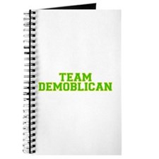 Team Demoblican - Grn/Gold Journal