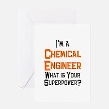 chemical engineer Greeting Card