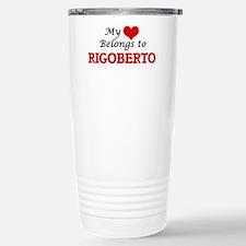 My heart belongs to Rig Stainless Steel Travel Mug