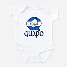 QGuapo_Nicaragua_flag Body Suit