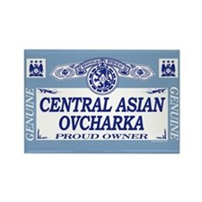 CENTRAL ASIAN OVCHARKA Rectangle Magnet