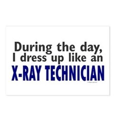 Dress Up Like An X-Ray Technician Postcards (Packa