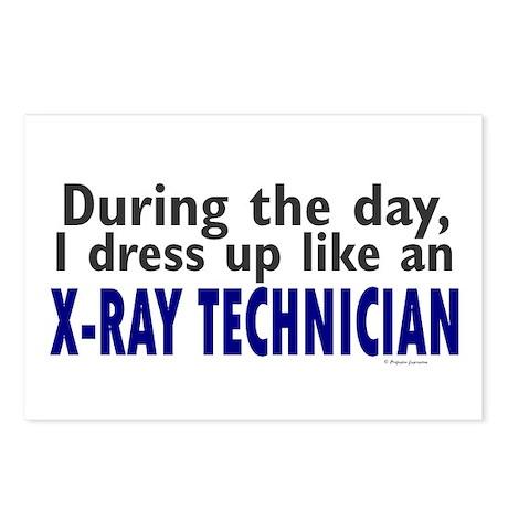 Dress Up Like An X-Ray Technician Postcards (Packa