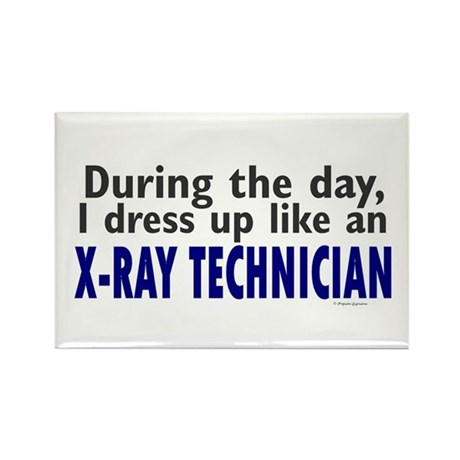 Dress Up Like An X-Ray Technician Rectangle Magnet