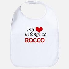 My heart belongs to Rocco Bib