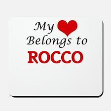 My heart belongs to Rocco Mousepad