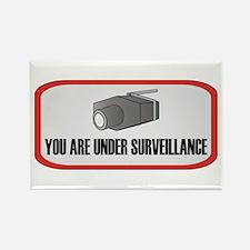 You Are Under Surveillance Rectangle Magnet