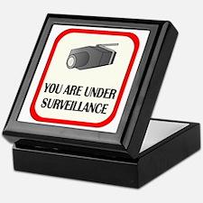 You Are Under Surveillance Keepsake Box