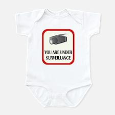 You Are Under Surveillance Infant Bodysuit