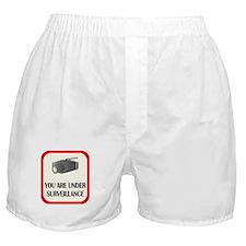 You Are Under Surveillance Boxer Shorts