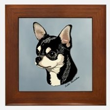 Chihuahua Expression-2 Framed Tile