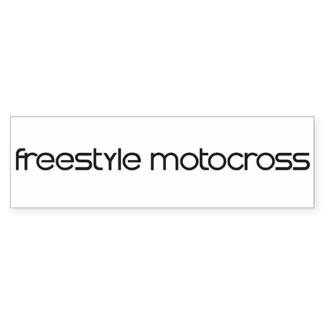 Freestyle Motocross (modern) Bumper Sticker